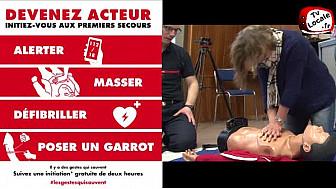 Initiation aux Premiers Secours au Centre d'Incendie et de Secours de #Lingolsheim #Tvlocale_fr