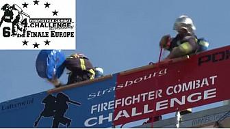 Du 2 au 4 septembre la 4ème édition du Firefighter Combat Challenge Strasbourg se tient à la Vigie-Ostwald