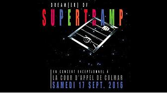 Dream(er) of Supertramp en concert dans le cadre prestigieux de la Cour d'appel de Colmar.
