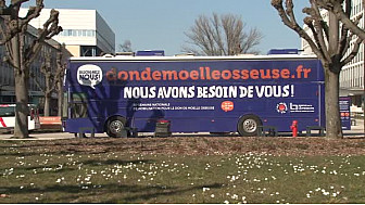 Le camion #dondemeolleosseuse s'est rendu sur le campus central à #strasbourg