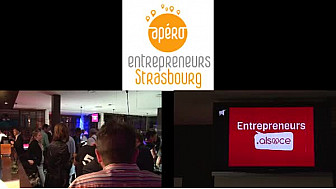 #Aperoentrepreneurs Strasbourg a réuni plus de 100 personnes début août.