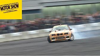 Laurent Cousin et son fils Terence étaient au Motor Show à Luxembourg pour une démonstration de Drift
