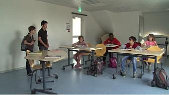 """Des enfants du CLAS de l'Albatros de LIngolsheim présente """" Le nouveau"""""""