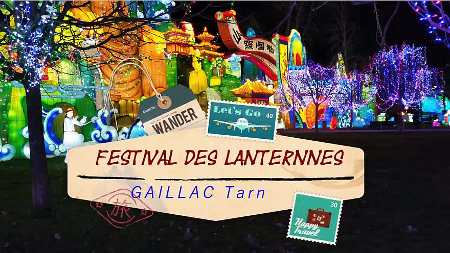 Gaillac,  festival de lanternes #gaillac #festival #tarn #tvlocale.fr #occitanie
