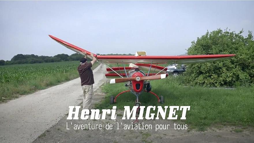 L'aventure de l'aviation pour tous : Henri Mignet et le 'Pou du ciel'